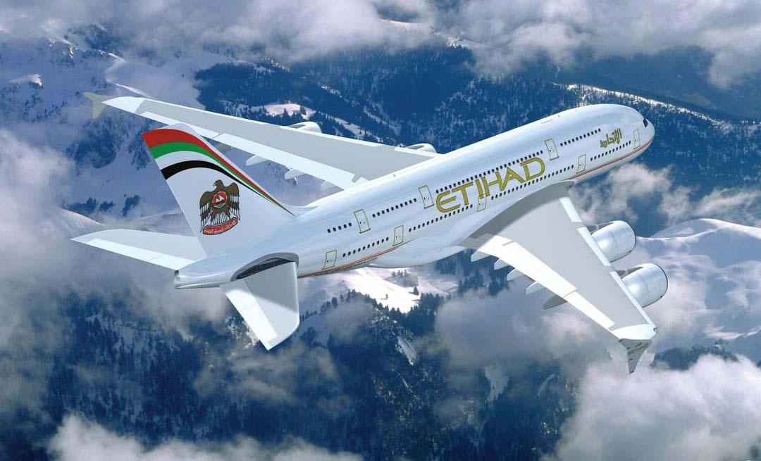 Etihad Airways самолет