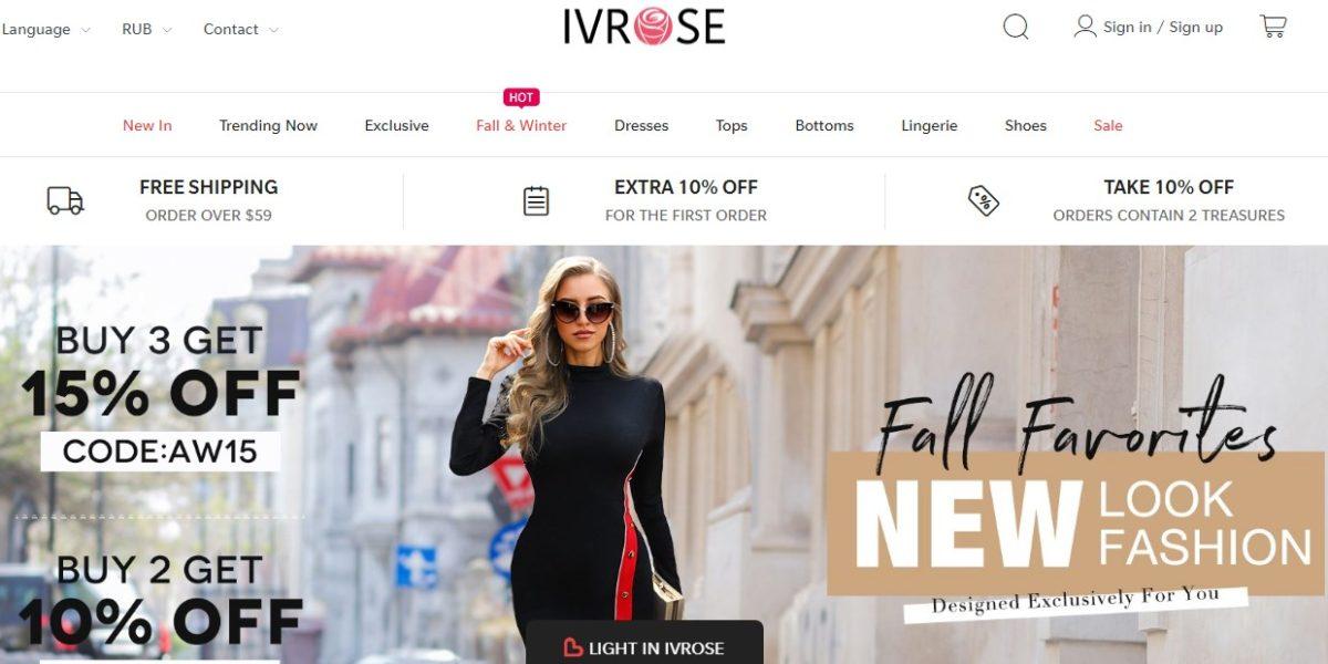 Ivrose Интернет Магазин Отзывы Покупателей